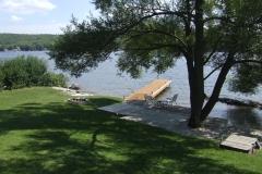 20130818 Holiday Pines Trailer Park, near Peterborough Ontario - The Shore Deck