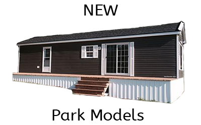 new trailers available at Holiday Pines Trailer park, near Peterborough Ontario